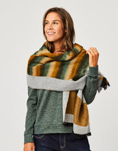 Load image into Gallery viewer, Charlotte Scarf : Multi Stripe