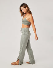 Load image into Gallery viewer, Bonfire Pant: Moss Stripe