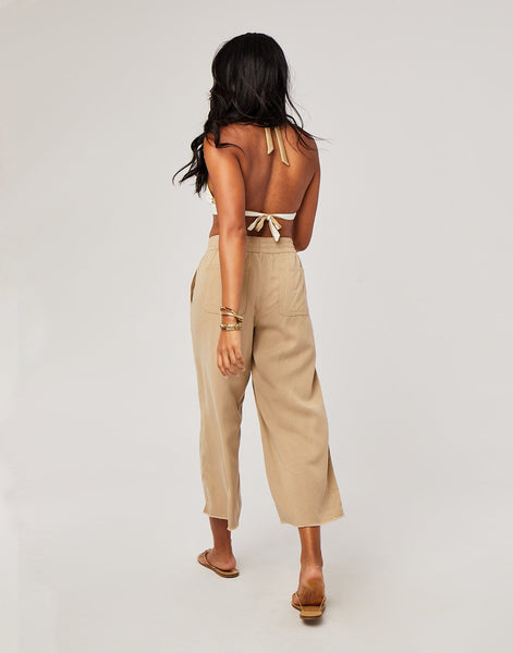 Riley Pant : Light Straw