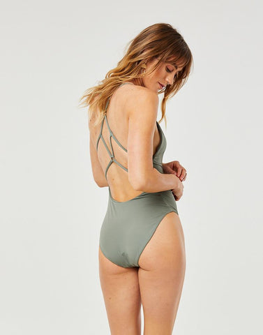 Hayes One Piece : Moss