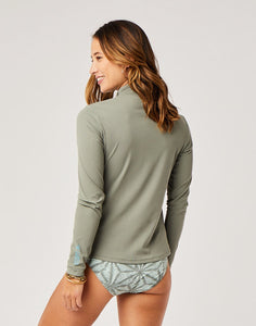 Lake Sunshirt : Moss w. Moss Pull