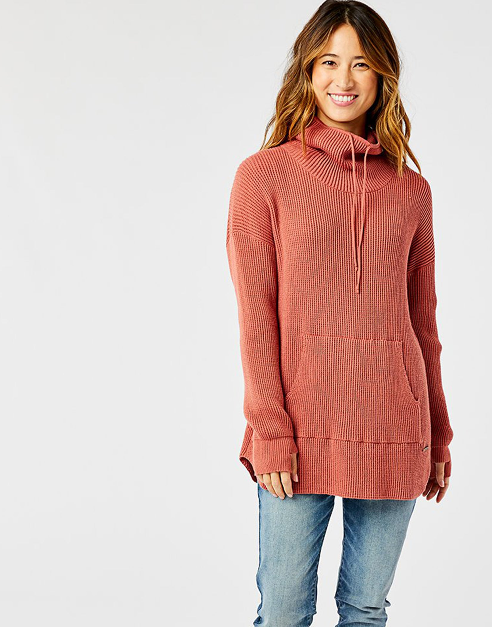 Rockvale Sweater: Red Rock