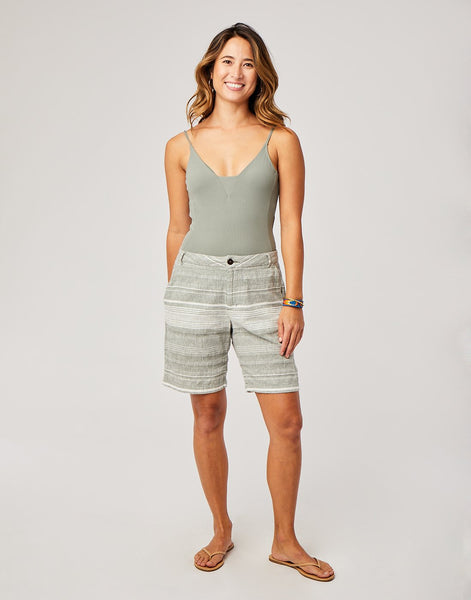 Kennedy Short : Moss Stripe