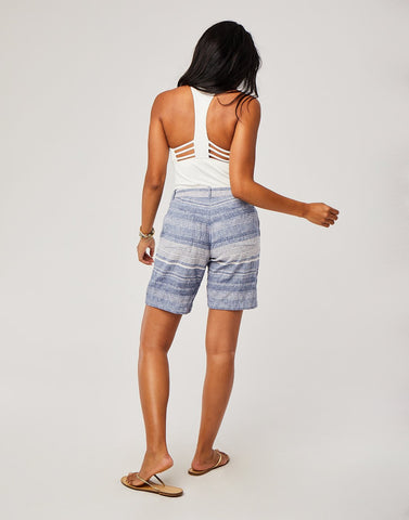Kennedy Short : Coastal Stripe
