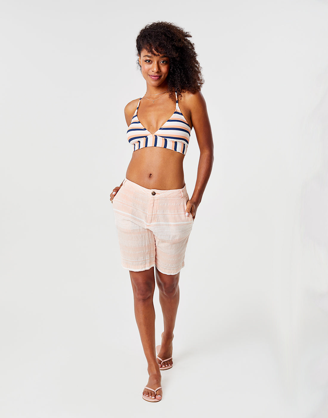 Kennedy Short : Guava Stripe