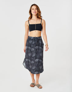 Peyton Skirt : Black Wailuku