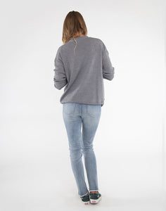 Aurora Sweater: Grey Heather
