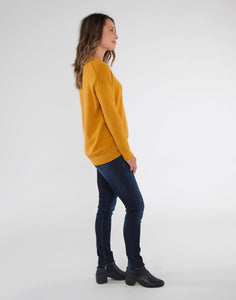 Aurora Sweater: Sunflower