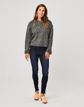 Load image into Gallery viewer, Estes Crop Sweater: Black