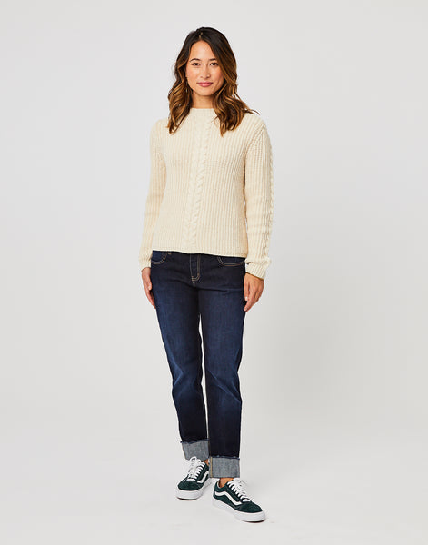 Walsh Sweater: Birch