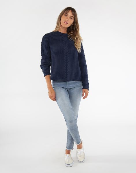 Walsh Sweater: Navy