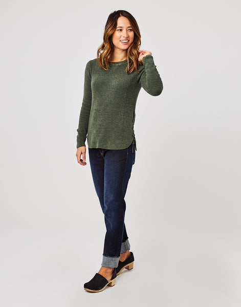 Willa Sweater : Hunter