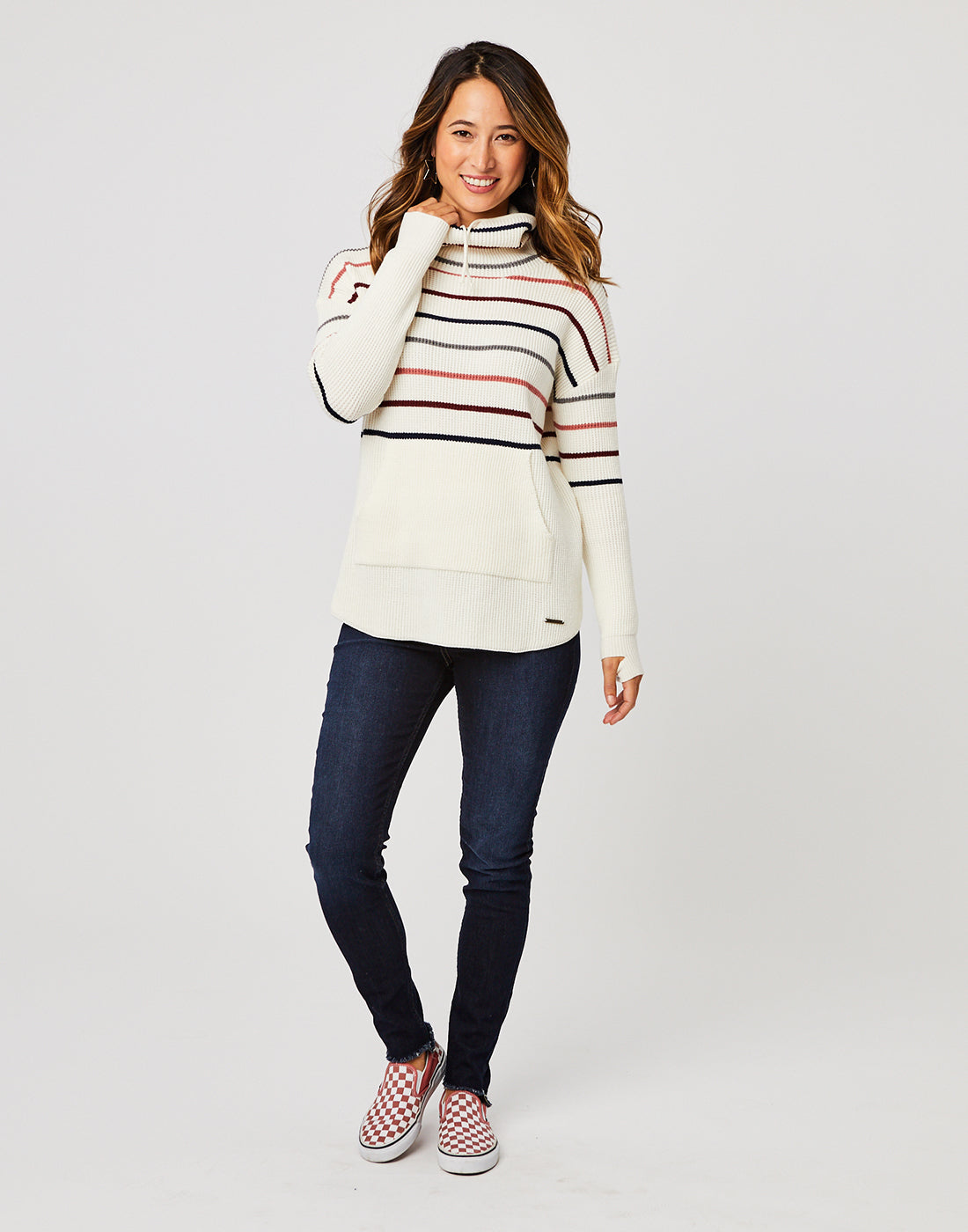 Rockvale Sweater : Foam Stripe