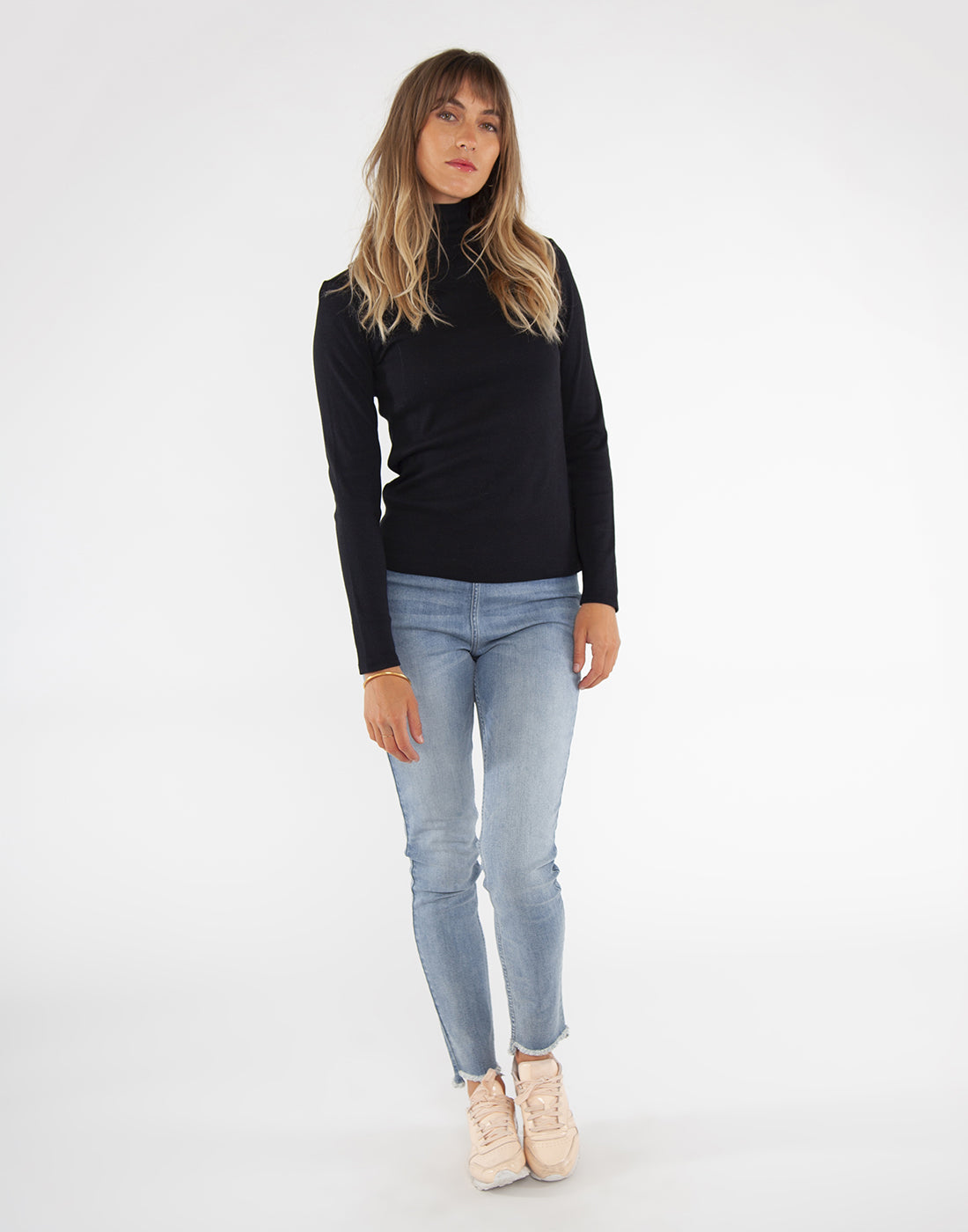 Denia Top : Black
