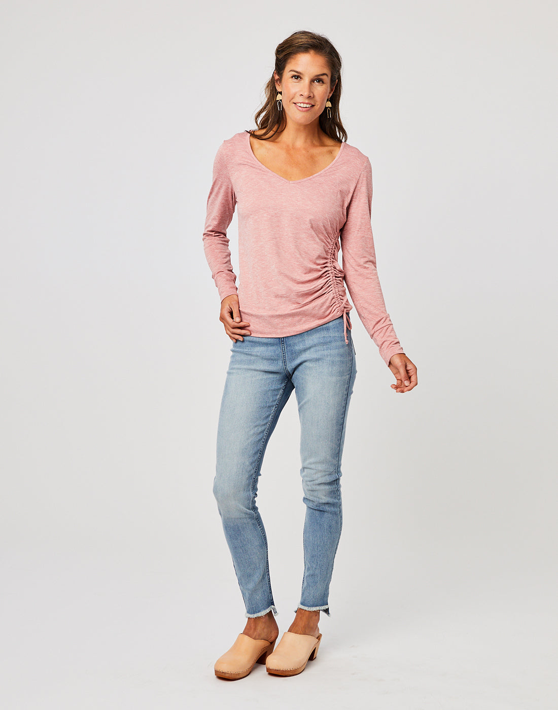 Tilton Top : Rose Heather