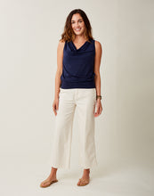 Load image into Gallery viewer, Luisa Top: Navy