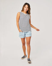 Load image into Gallery viewer, Robins Tank : Navy Mali Stripe
