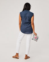 Load image into Gallery viewer, Larkin Shirt : Navy Bayside