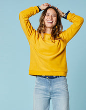 Load image into Gallery viewer, Ruby Crewneck : Sunflower
