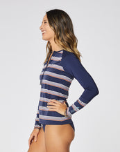 Load image into Gallery viewer, Kona Rashguard: Ravine w. Navy Rib