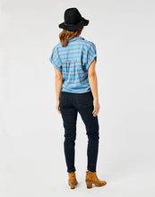 Load image into Gallery viewer, Huck SS Shirt: Lake Stripe