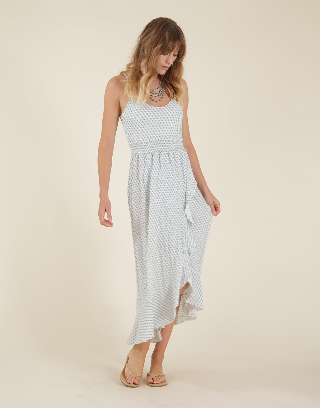 Nora Dress: Thyme Paige