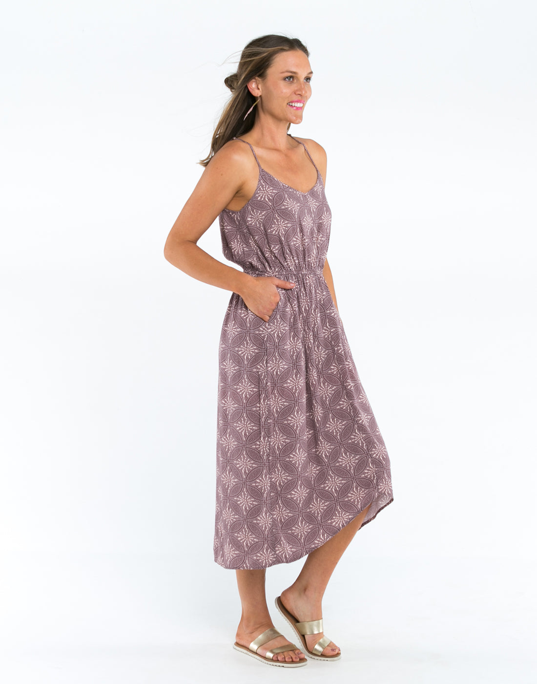 Grayson Dress: Batik Woven