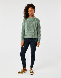 Walsh Sweater: Frosted Moss