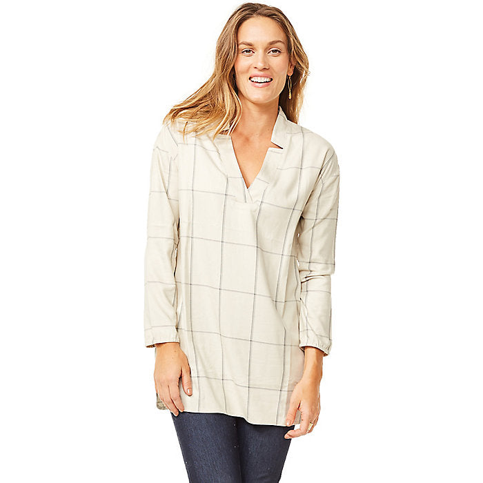 Hammond Tunic: Sherpa Windowpane