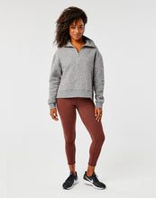 Load image into Gallery viewer, Pomona Pull Over: Pewter Heather