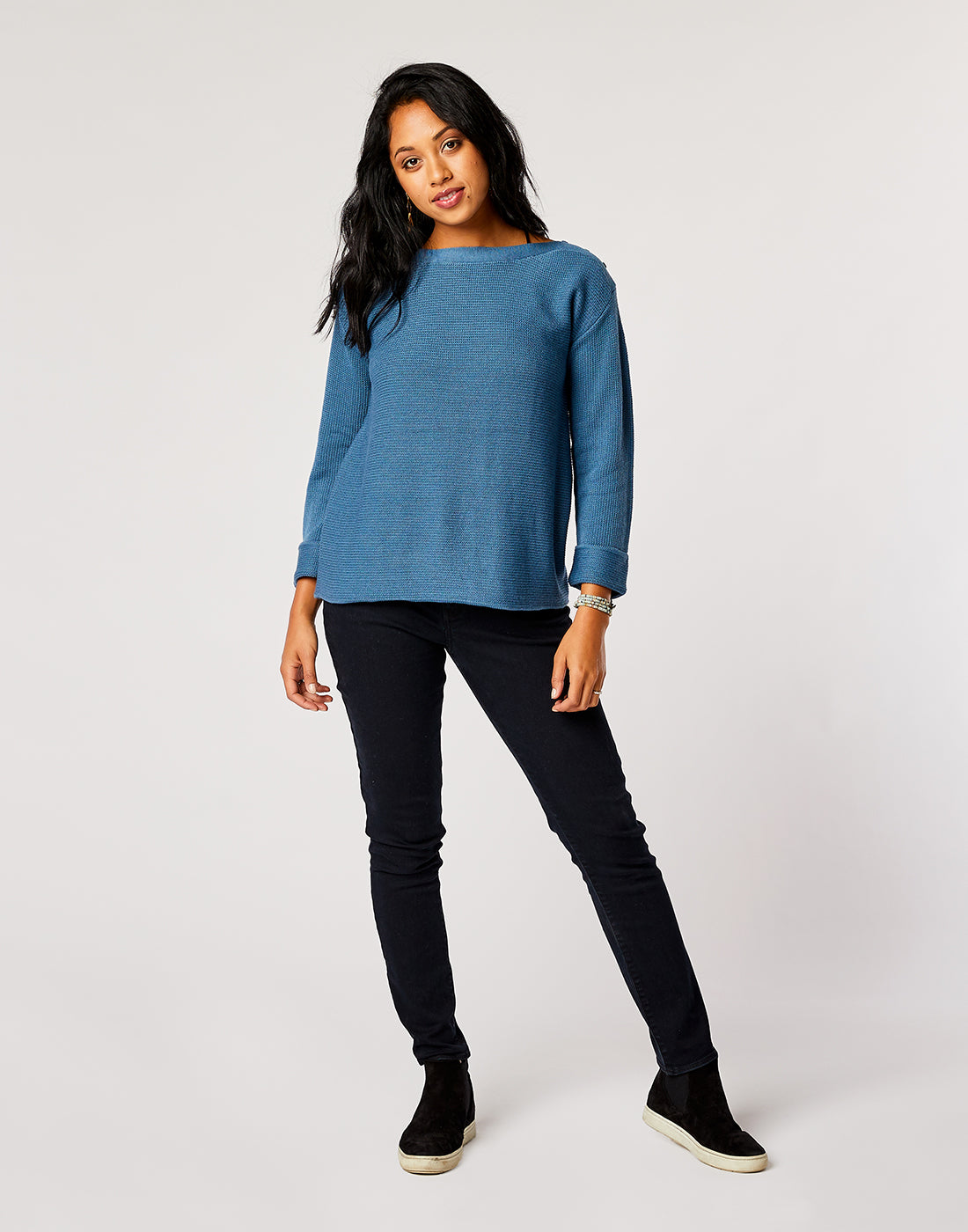 Bandon Sweater: River