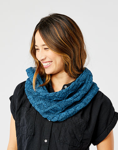 Walsh Infinity Scarf: Marled River
