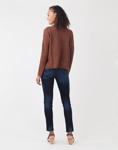 Livia Sweater : Bark