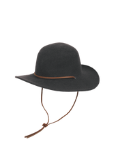 Load image into Gallery viewer, Miranda Hat: Black