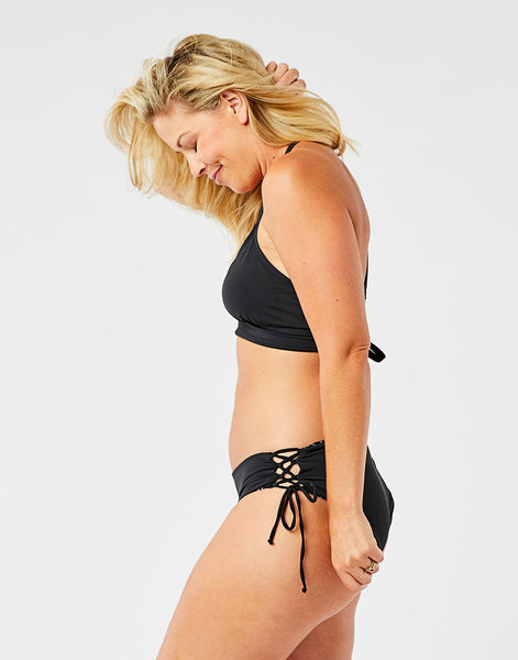 Mustique Reversible Bottom: South Point/Black
