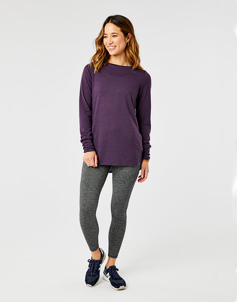 Chelsea Top: Shade Heather