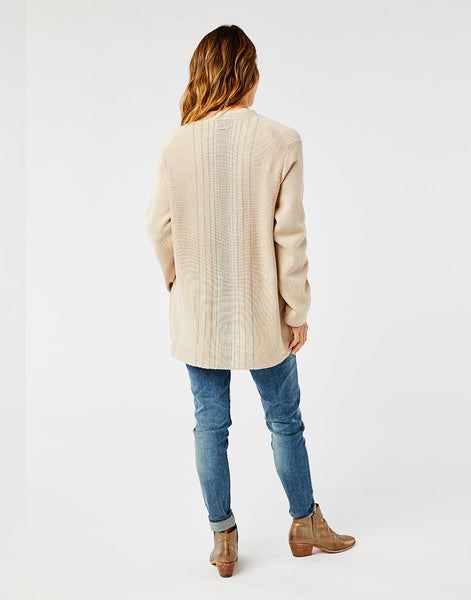 Alma Sweater: Cement Heather