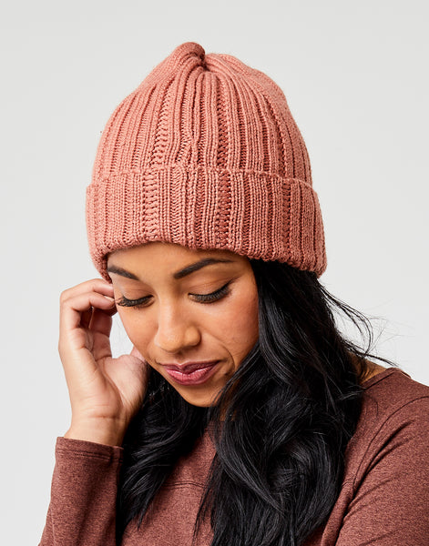 Ember Beanie: Red Rock
