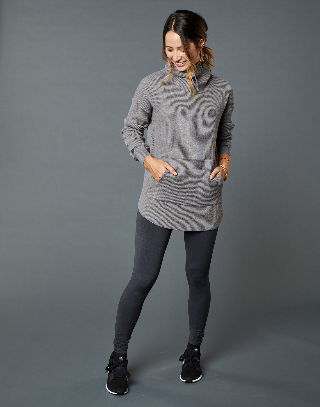 Rockvale Sweater : Grey Heather