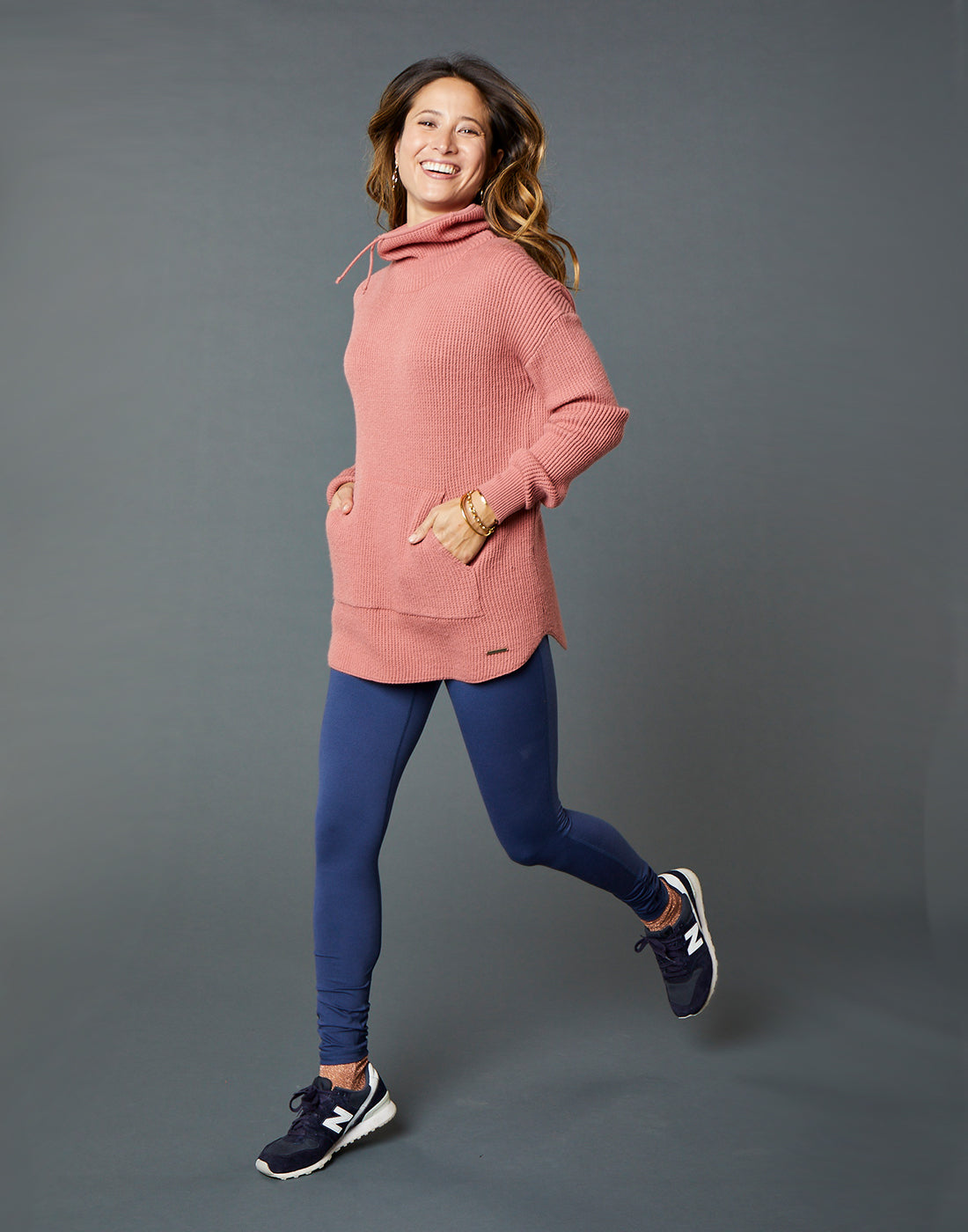 Rockvale Sweater : Rose