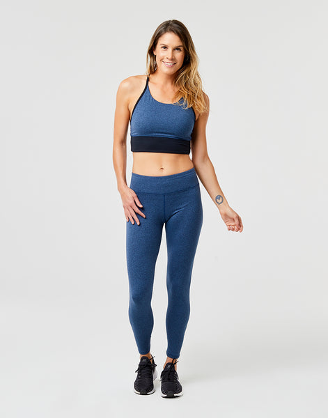 Canyon Legging: River Heather