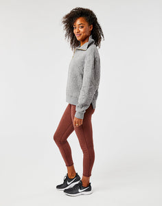 Pomona Pull Over: Pewter Heather