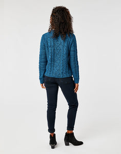 Walsh Sweater: Marled River