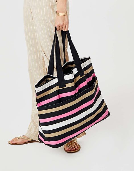 All Day Tote: Broadstripe