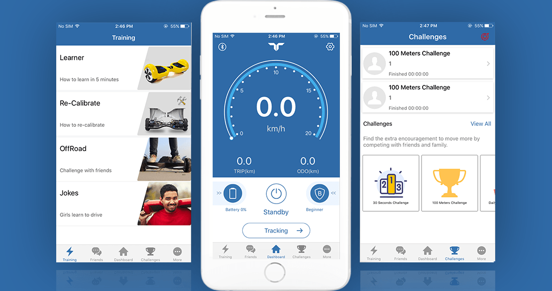 What are APP ENABLED Hoverboards ?