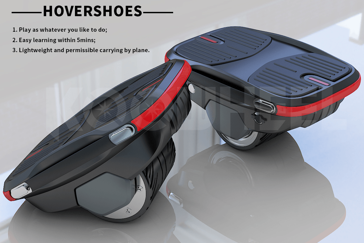 INTRODUCING SEGWAYFUN HOVERSHOES