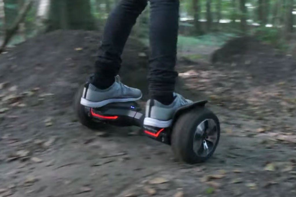 THE NEW ALL – TERRAIN WARRIOR HOVERBOARD