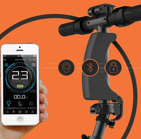 world lightest electric bike bluetooth
