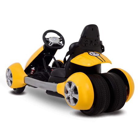 SPEED RACER Kids Electric GO kart Racing Ride On Toy Car - 30% Black Friday Offer - Segwayfun