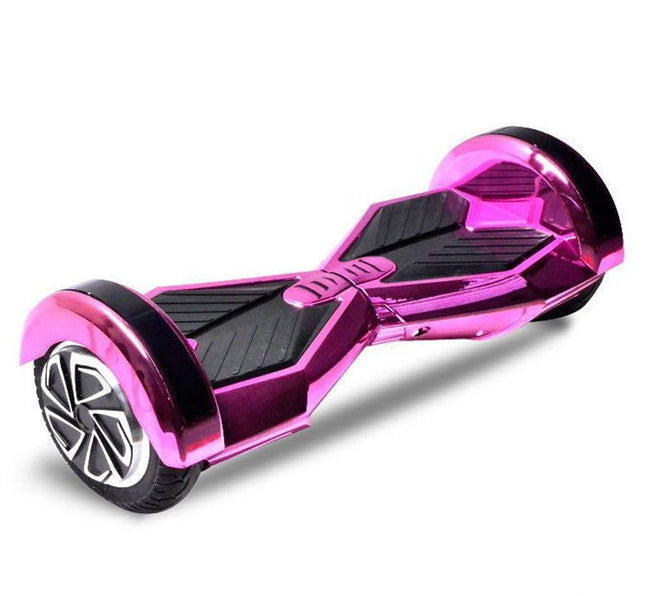 Chrome Pink Swegway Hoverboard Lambo Edition with Bluetooth Speaker - Segwayfun